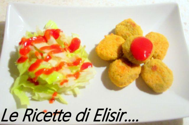 Crocchette di pollo e insalata pan di zucchero http://blog.giallozafferano.it/ricettedielisir/crocchette-di-pollo-e-insalata-pan-di-zucchero/