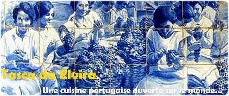 """TASCA DE ELVIRA  """"une cuisine portugaise ouverte sur le monde"""""""