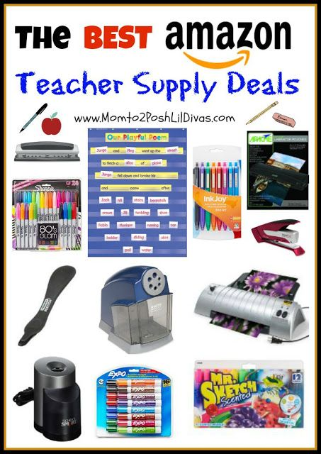 I heart Amazon!! The best Amazon teacher supply deals.