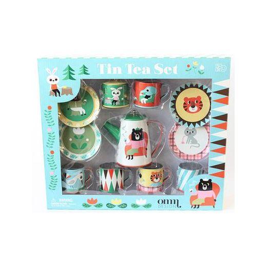 Multicoloured Tin Tea Set | Cult Furniture