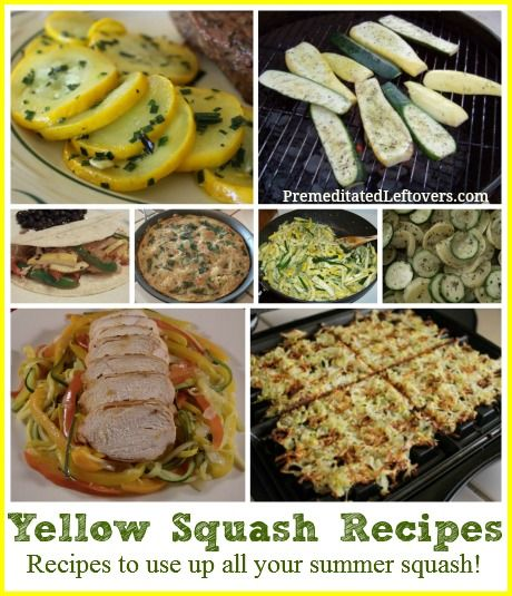 Yellow Squash Recipes - recipes to use up your summer squash chicken squash bake