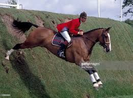 Nick Skelton of Great Britain riding his horse Apollo during the Silk Cut Derby at Hickstead
