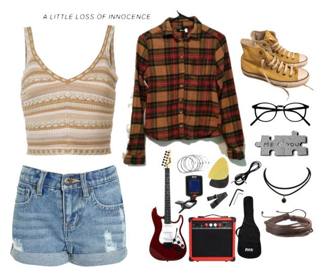 """""""A little loss of innocence"""" by prttylilgirl ❤ liked on Polyvore featuring Alice + Olivia, Converse and Zodaca"""