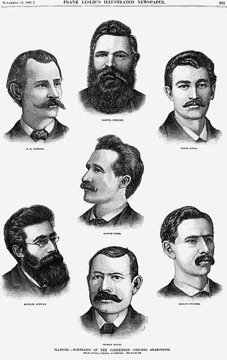 In the internationally publicized legal proceedings that followed, eight anarchists were convicted of conspiracy. The evidence was that one of the defendants may have built the bomb, but none of those on trial had thrown it.