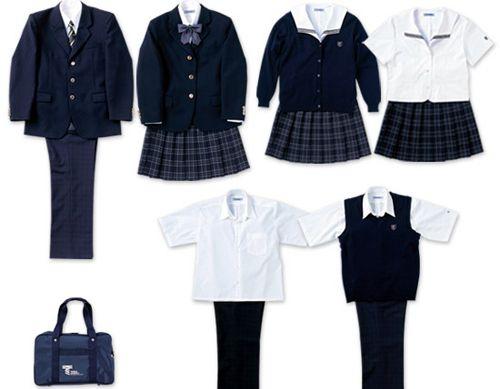 school uniform looks