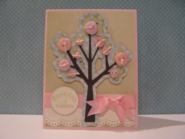 Charming Card Making Ideas Cricut Part - 10: Cricut Card Ideas | This Card Was Made Using Pink Paisley Paper And The  Serenade Cricut