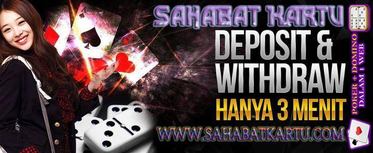 www.sahabatkartu.me Situs dengan Deposit dan Withdraw Tercepat !  AGEN POKER   DOMINO 99 ONLINE   BANDARQ TERPERCAYA INDONESIA