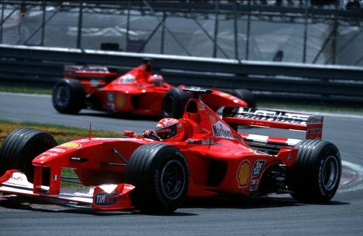 2000 Ferrari F1 2000 (#3 Michael Schumacher & #4Rubens Barrichello)