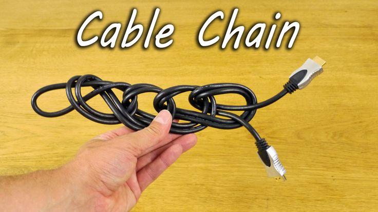 So binden Sie Ihre Leitungen und Kabel. Halten Sie die Leitungen sauber und ordentlich mit diesem einfachen Kabel …