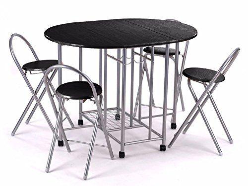 Table: 30l x 47w x 29h 4 Parson Chair: 17l x 21w x 37h