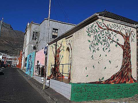 Woodstock in Cape Town