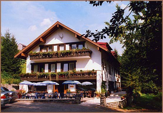 Cafe Pension Bachtelhaus in Oberstdorf / Tiefenbach im Oberallgäu