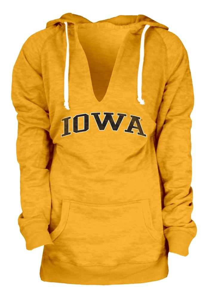 Iowa Hawkeyes Womens Gold Fleece Pullover Hooded Sweatshirt http://www.rallyhouse.com/college/iowa-hawkeyes/a/womens/b/clothing/c/jackets-sweatshirtsr?utm_source=pinterest&utm_medium=social&utm_campaign=Pinterest-IowaHawkeyes $49.99