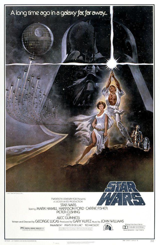 All Star Wars: Movie Posters, Harrison Ford, Picture-Black Posters, War 1977, Star Wars, Stars War Movie, Episode Iv, Favorite Movie, Starwars