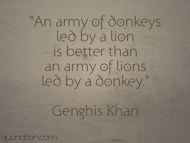 leadership from genghis khan More than 800 million men living today are descended from just eleven men,  including the ruthless mongolian leader genghis khan, according.