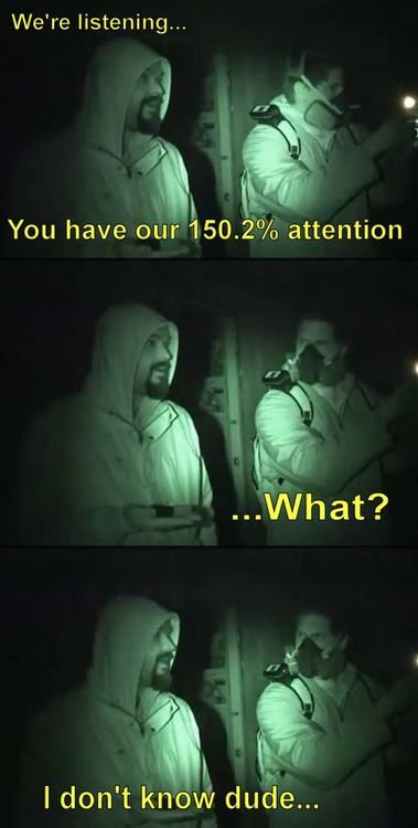 Ghost Adventures - lmao I remember this episode. I was also very perplexed by this number!