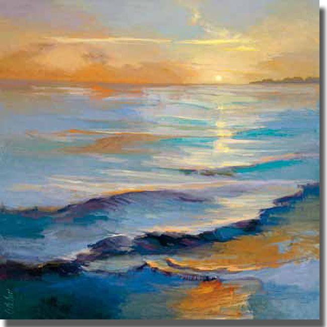 <li>Artist: Vicki McMurray</li><li>Title: Ocean Overture</li><li>Product Type: Canvas Art</li>