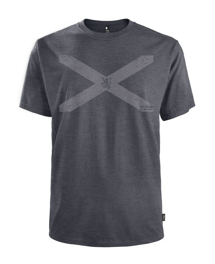 Vintage St. Andrew's Cross Unisex Tee - Made in Canada