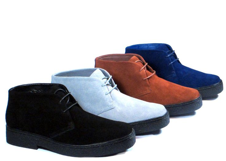 New Men Ankle Boots PlayBoy Chukka British Style Suede Casual Walkers Oxfords  #R #AnkleBoots