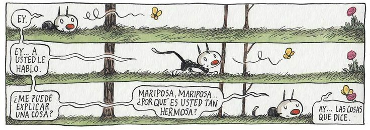 Mariposa, Mariposa...