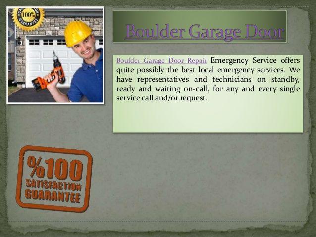 24 best overhead door images on pinterest for Garage door repair boulder