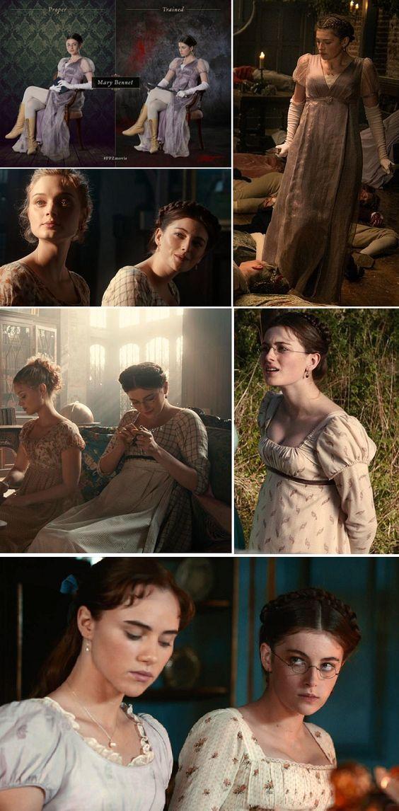 Millie Brady as Mary Bennet in PPZ (2016)