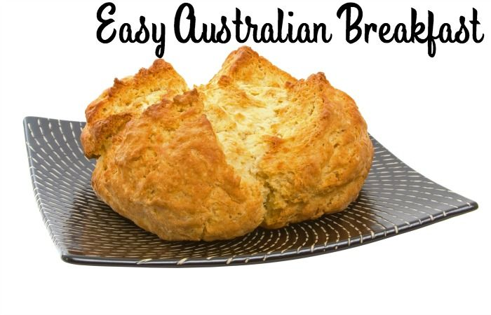 Easy Damper with Golden Syrup {Australian Breakfast} - Totally The Bomb.com
