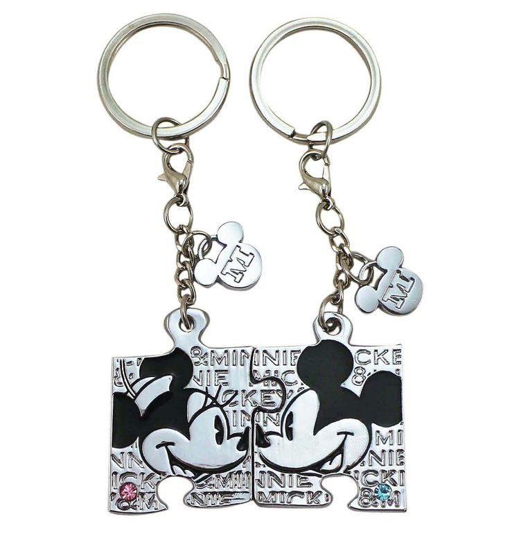 Disney Discovery- Mickey And Minnie Couples Key Chains