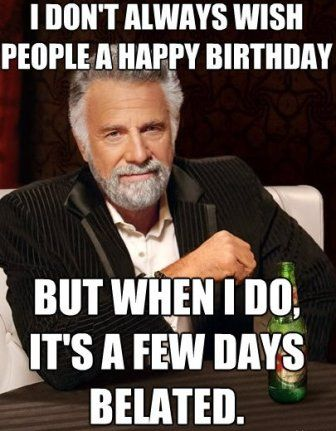BELATED BIRTHDAY CAT MEMES image memes at relatably.com