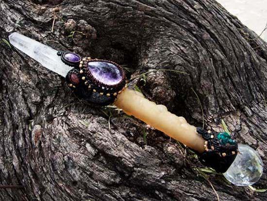 フクロウ魔法の杖 - 天然石販売・通販のROOT PEOPLE