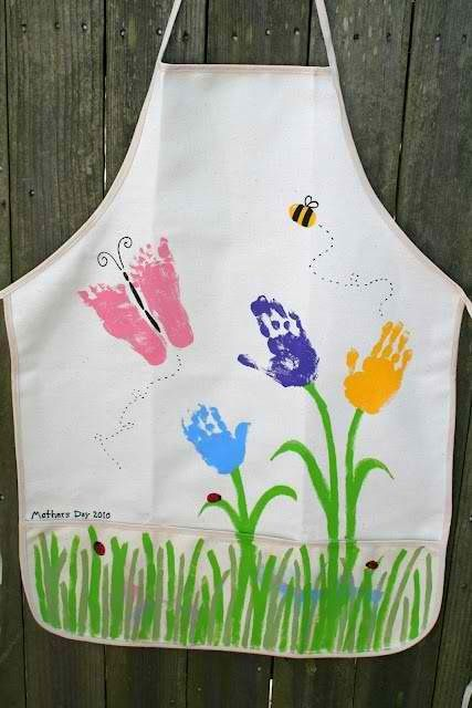Mothers Day #teachersfollowteachers  #MothersDay #artsandcrafts  Muttertag Geschenk Schürze Apron