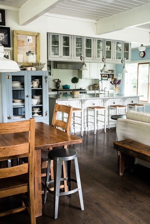 industrial shabby chic