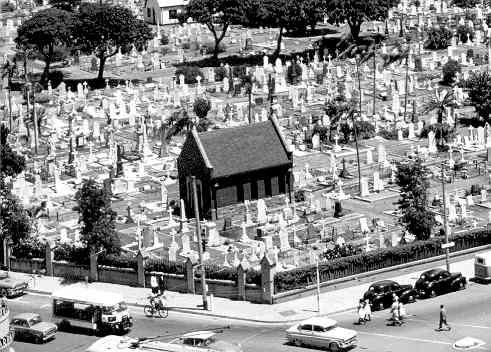 West Street Cemetery, Durban (Marriott family burial place)
