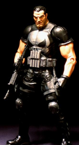Punisher (Punisher) Custom Action Figure by Maelstrom  Base figure: Toybiz Punisher with DCUC upper body and arms