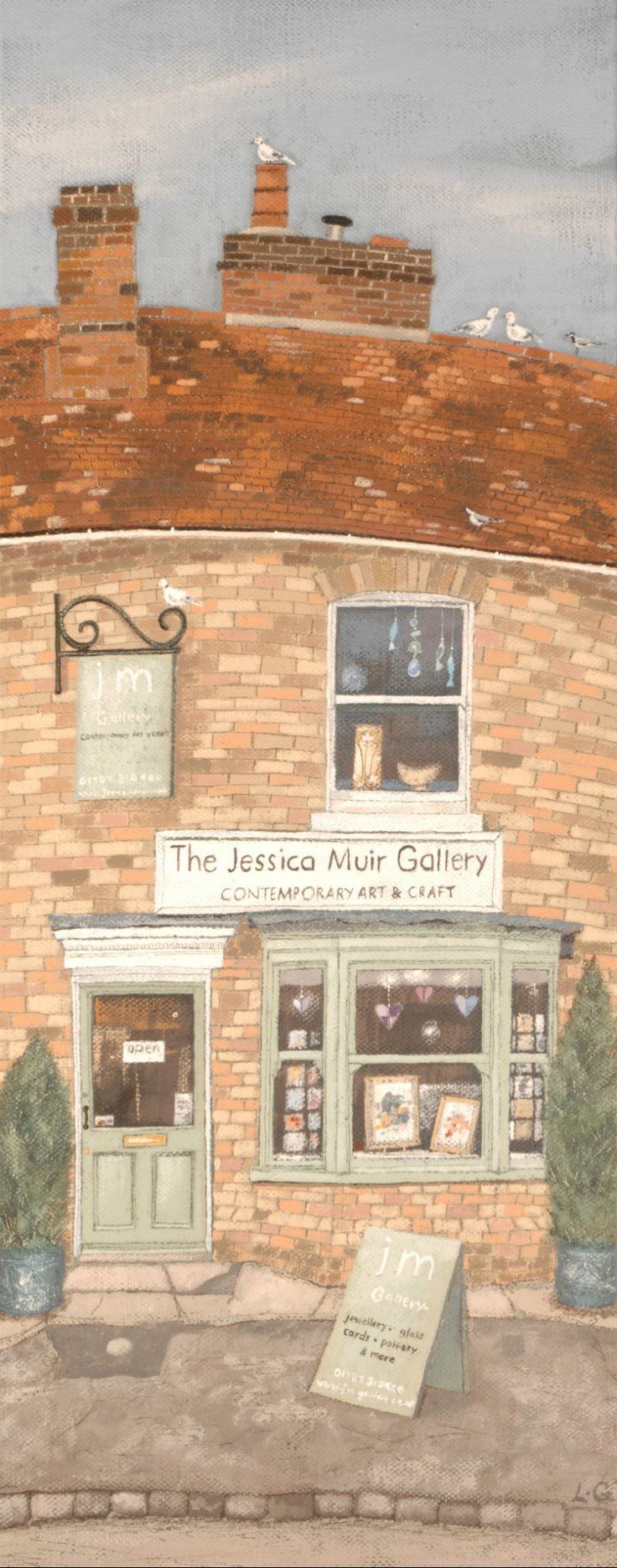 The Jessica Muir Gallery, Long Melford, Suffolk | by Lucy Grossmith