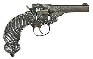 Smith & Wesson .32 Double Action 4th Model Revolver by Tiffany
