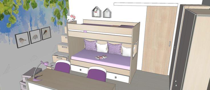 dětský pokojík var2