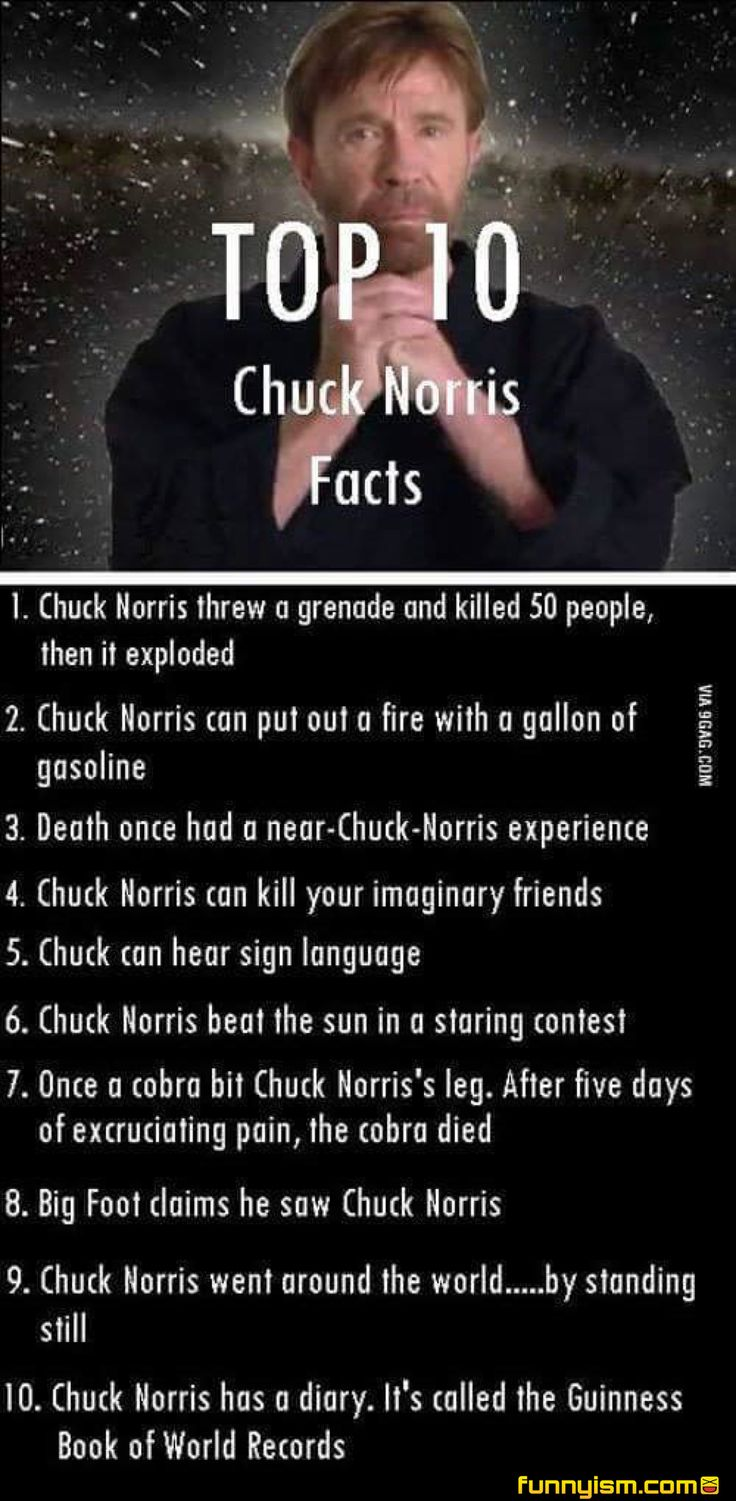 Chuck Norris Facts.............ok