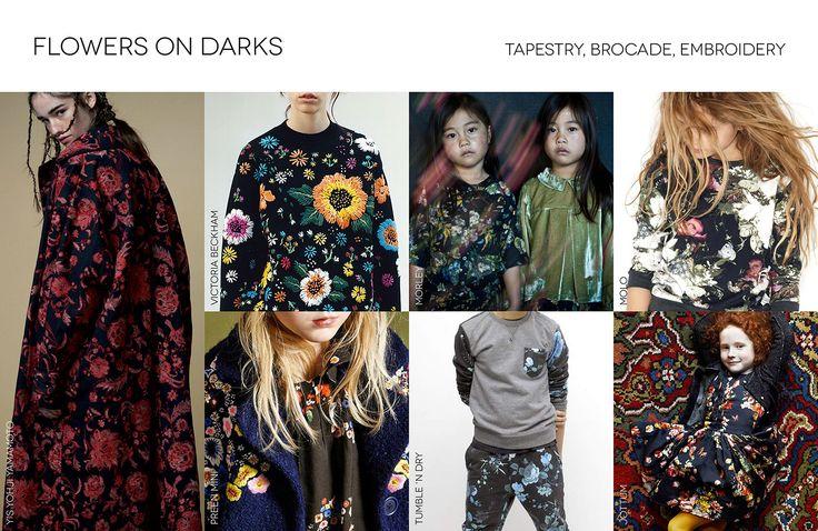 Kid's Wear - Trend Fall/Winter 16-17_Flowers on Darks