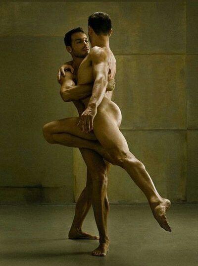 Nude Men Dancing 30