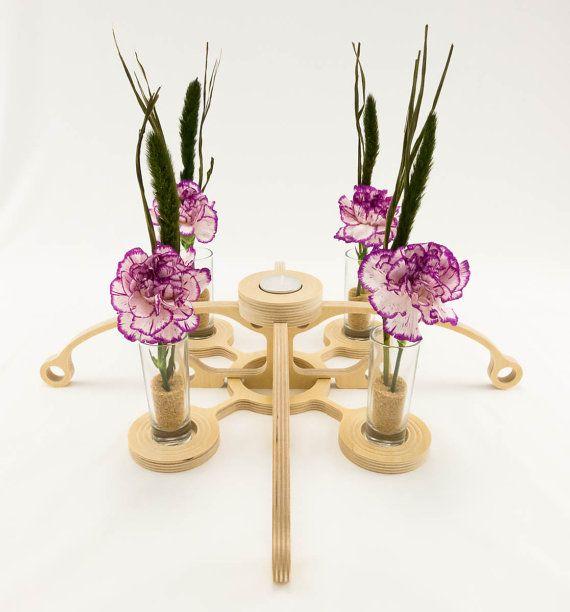 Style 09  Modular Sculpture Candle Holder by KkornerInnovations, $34.00