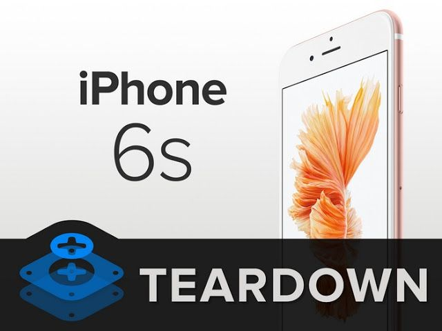 Inilah jeroan Apple iPhone 6s
