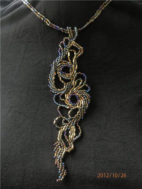 #beadwork Китайский дракончик | biser.info - всё о бисере и бисерном творчестве