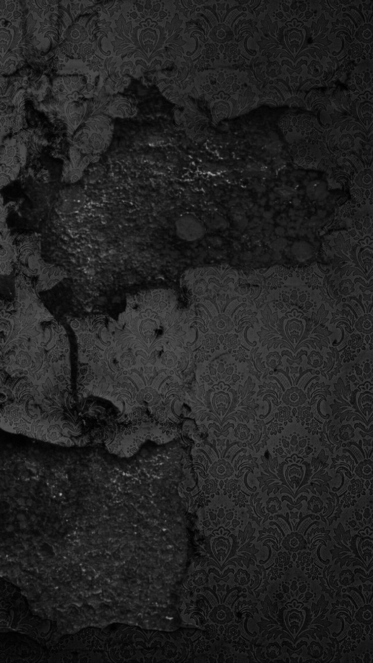 Rustic Black Wall Wallpaper
