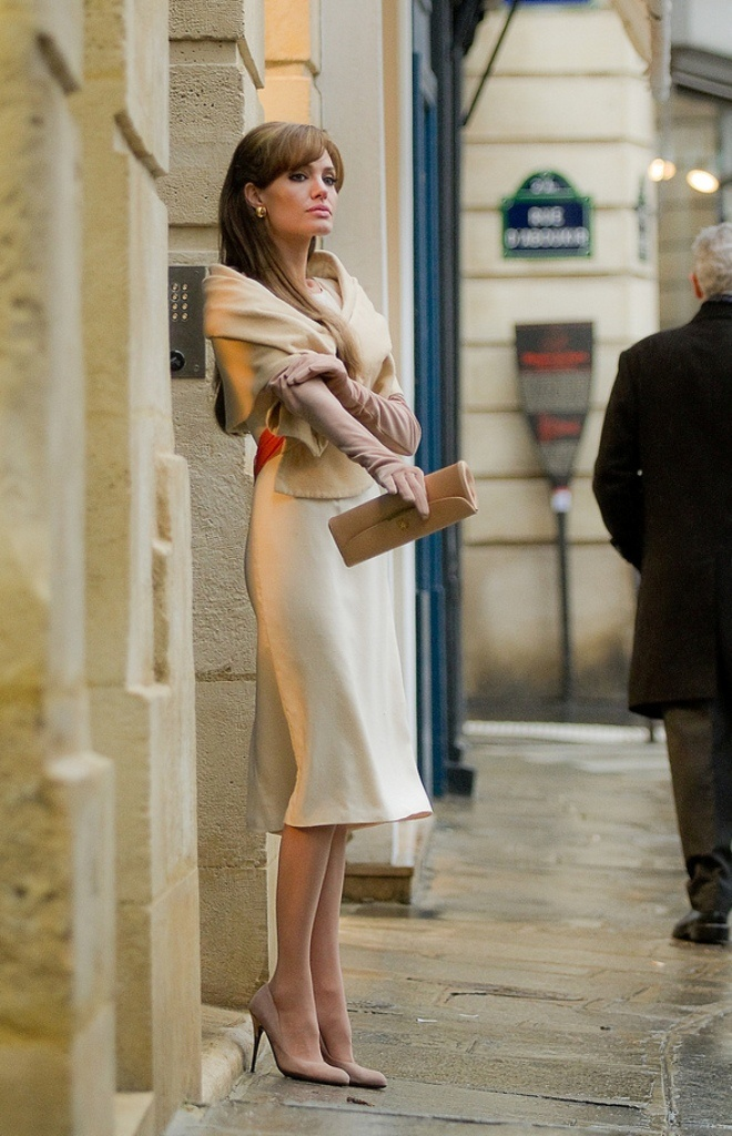 d1a357cfc700 The Tourist. So worth seeing for Angelina s elegant costumes ...