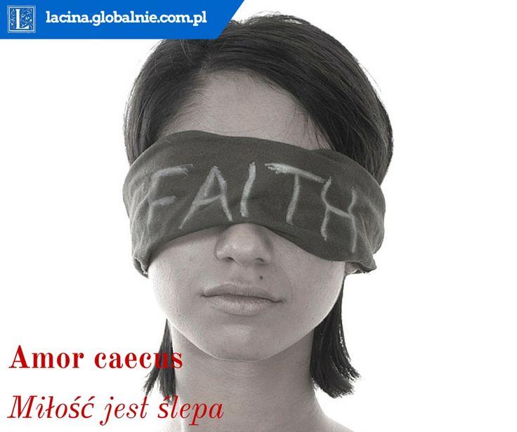 Najpiękniejsze sentencje o miłości  Amor caecus - miłość jest ślepa http://lacina.globalnie.com.pl/sentencje-o-milosci/ #miłość #sentencje #łacina #złotemyśli #cytaty #sentencjeomiłości
