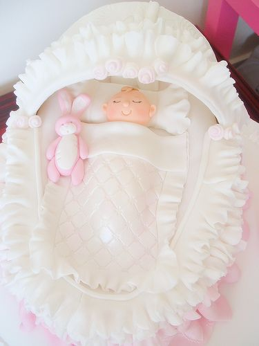 Baby's crib cake | deborah hwang | Flickr