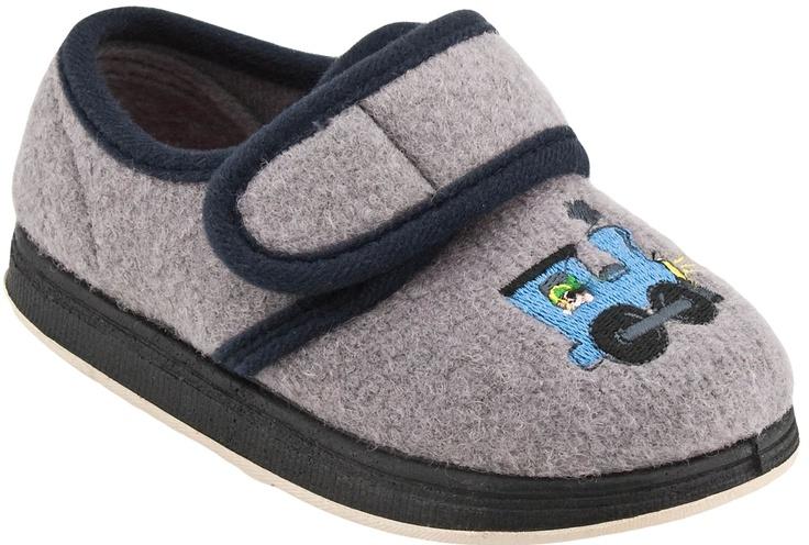 Foamtreads Comfie Kids Slipper (Grey)