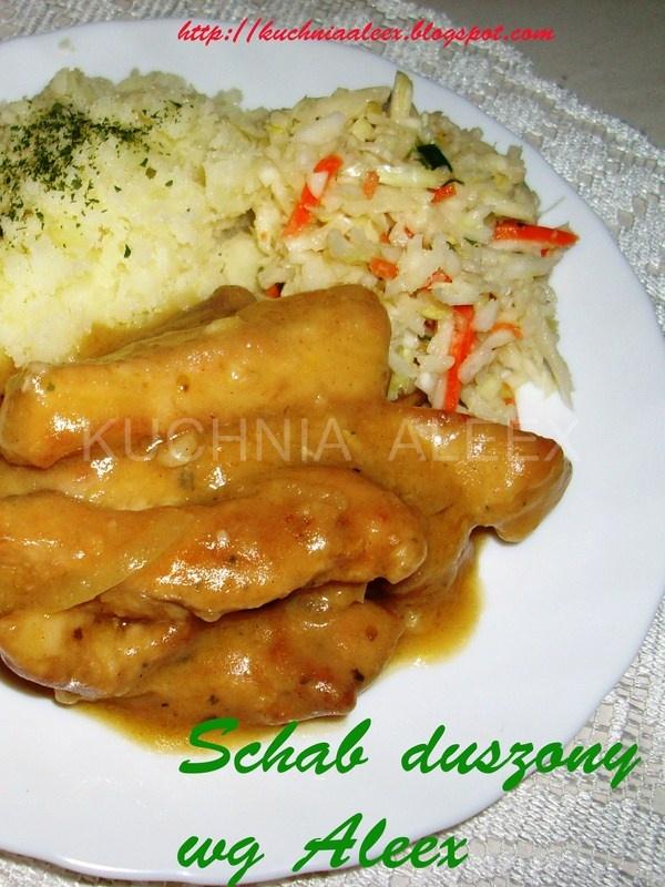 W mojej kuchni: Schab duszony wg Aleex