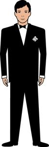 clipart images tuxedos and grooms on pinterest